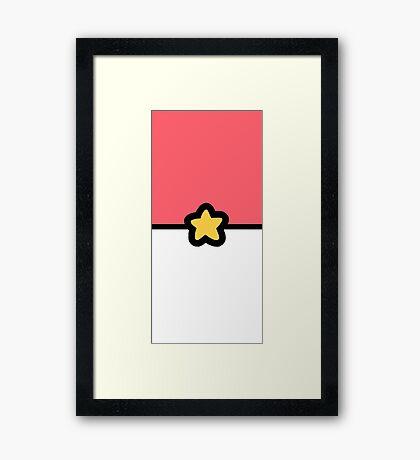 Gotta Catch '(G)em All (Steven Design) Framed Print