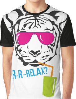 Face of a tiger relax Graphic T-Shirt