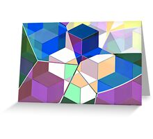 Building Blocks Of Time Greeting Card