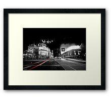 Flinders in Black and White Framed Print