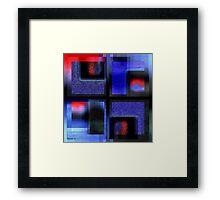 Symphony In Blue Major 2 Framed Print