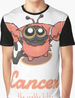 Signs of the ZODICAT - Cancer: The crabby kitty Graphic T-Shirt