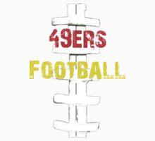 san fran 49ers football Kids Tee