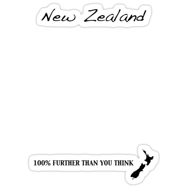New Zealand - 100% Further Than You Think by Jonathan Hughes