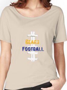 Chicago Bears football Women's Relaxed Fit T-Shirt