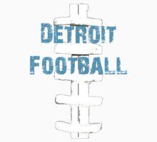 Detroit Lions Football Kids Tee
