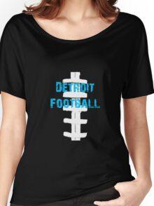 Detroit Lions Football Women's Relaxed Fit T-Shirt