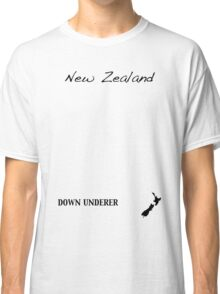 New Zealand - Down Underer Classic T-Shirt