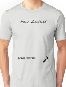 New Zealand - Down Underer Unisex T-Shirt
