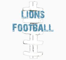 Lions football Kids Tee