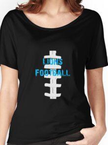 Lions football Women's Relaxed Fit T-Shirt