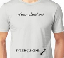 New Zealand - Ewe Should Come Unisex T-Shirt