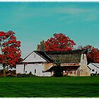 Fall on a farm by jammingene