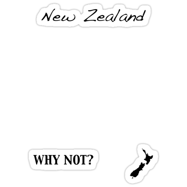 New Zealand - Why Not? by Jonathan Hughes