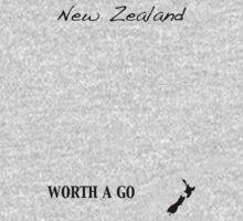 New Zealand - Worth A Go Kids Tee