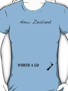 New Zealand - Worth A Go T-Shirt