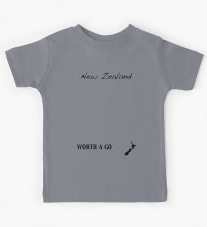 New Zealand - Worth A Go Kids Tee