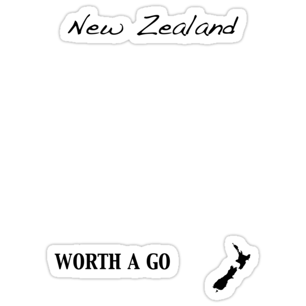 New Zealand - Worth A Go by Jonathan Hughes