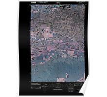 USGS Topo Map Washington State WA Yakima West 20110404 TM Inverted Poster