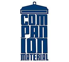 Companion Material Photographic Print
