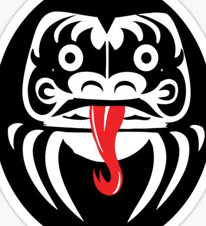 Hardcore Daruma Sticker