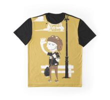 Smile and Wave Graphic T-Shirt
