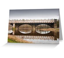 Bridge over the River Ribble Greeting Card