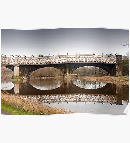 Bridge over the River Ribble Poster