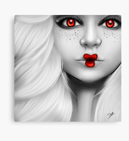 Dolly - Red Canvas Print