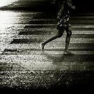 Jogging in Bangkok by Laurent Hunziker