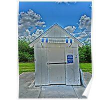 little Post-Office Florida Poster