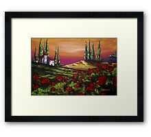 Countryside Retreat Framed Print