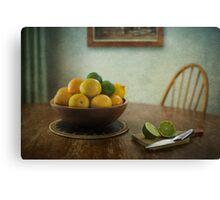 Citrus Canvas Print