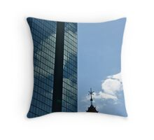 Splitting the Difference 54 Throw Pillow