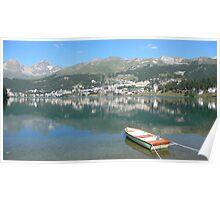 St. Moritz, Schweiz Poster