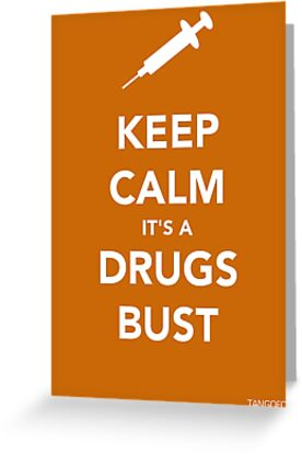 Keep Calm, Its A Drugs Bust by thetangofox