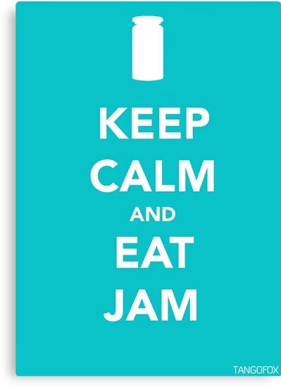 Keep Calm & Eat Jam by thetangofox