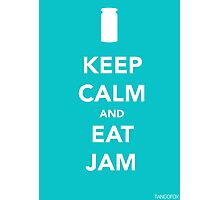 Keep Calm & Eat Jam Photographic Print