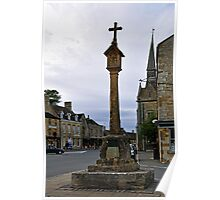 Market Cross, Stow-on-the-Wold  Poster