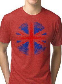 Dotty Union Flag Tri-blend T-Shirt