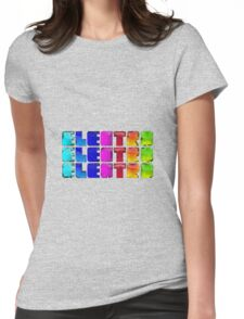 Electro T Womens Fitted T-Shirt
