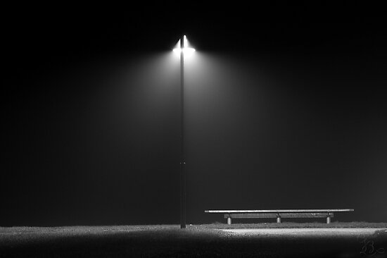 Light in the Fog by Johannes Bildstein
