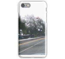 Winter Time in Rescue, CA iPhone Case/Skin