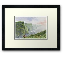 The Cliffs of Moher (Aillte an Mhothair) Framed Print