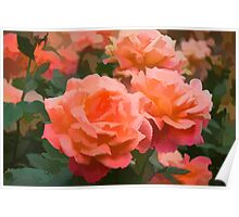 Happy, Fragrant Roses - Impressions of June Poster