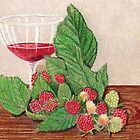 Raspberry Wine by Jorja