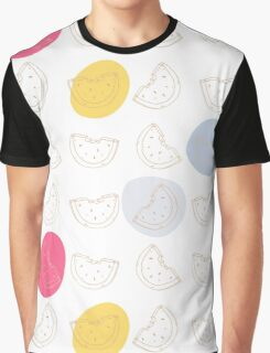 Cute pattern with watermelon   Graphic T-Shirt