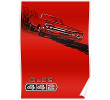 1964 Oldsmobile 442 poster reproduction Poster