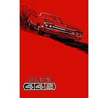 1964 Oldsmobile 442 poster reproduction Photographic Print