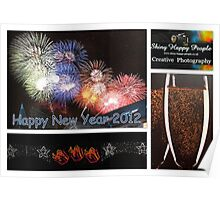 Happy New Year 2012 Poster